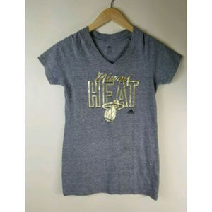 Adidas Miami Heat Womens Shirt Size M